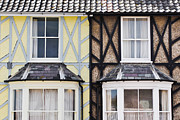 Aldeburgh Prints - Neighboring houses Print by Tom Gowanlock