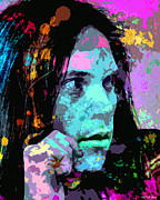 Neil Young Metal Prints - Neil Young Metal Print by Allen Glass