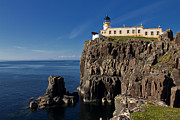 Foghorn Posters - Neist Point Lighthouse Poster by David Pringle
