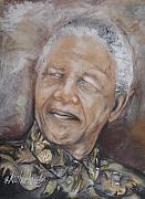 Nelson Mandela Print by Grant Netherlands