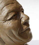 Democracy Sculptures - Nelson Mandela - Mini bust by Greg Norman