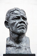 Afro Photos - Nelson Mandela statue by Jane Rix
