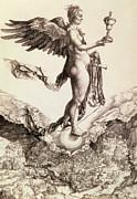 Nemesis Print by Albrecht Durer