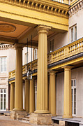 Dundurn Castle Photos - Neo Classical Columns by Barbara McMahon