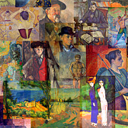 1886 Mixed Media - Neo-impressionism 1886 to 1894 by Anders Hingel