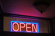 Gregory Dyer - Neon Open Sign