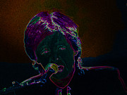 Neon Sir Paul Print by Tina M Wenger