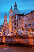 Neptune Prints - Neptune Fountain Print by Brian Jannsen