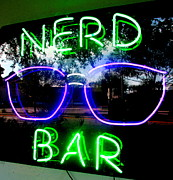 Nerd Framed Prints - Nerd Bar Framed Print by Randall Weidner
