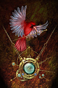 Symbols Digital Art Posters - Nest Poster by Ciro Marchetti