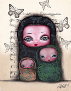 Abril Andrade Griffith - Nesting Dolls