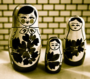 Nesting Photos - Nesting Dolls by David Hahn