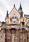 Most Photo Framed Prints - Neuschwanstein Castle Framed Print by Marcia Colelli