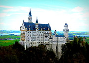 Neuschwanstein Castle  Print by The Creative Minds Art and Photography