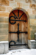 Ludwig Photos - Neuschwanstein Doorway by Brian Jannsen