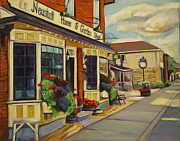 Antiques Paintings - Neustadt Ontario by Sheila Diemert