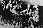 Faro Photos - NEVADA: CARD GAME, c1890 by Granger