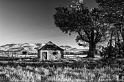 Stone House Framed Prints - Nevada Countryside Framed Print by Kurt Golgart