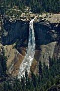 Nevada Falls Photos - Nevada Falls Yosemite by Thomas Major
