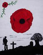 Ww1 Paintings - Never Forgotten by Martin Blakeley