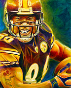 Football Player Framed Prints - Never Forgotten Framed Print by Scott Spillman