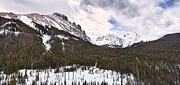Rocky Mountain Prints Framed Prints - Never Summer Wilderness Area Panorama Framed Print by James Bo Insogna