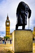 Artography Prints - Never Surrender - London Icon Print by Mark E Tisdale