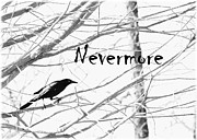 Angela Castillo Prints - Nevermore Print by Cherie Haines