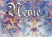 Nevie - Wise Print by Christopher Gaston