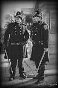Downtown Franklin Prints - New Age Coppers Print by Pic
