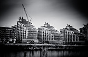 Carter House Prints - New Apartments in Battersea Print by Lenny Carter