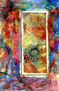 Featured Mixed Media Acrylic Prints - New beginnings card Acrylic Print by Cassandra Donnelly