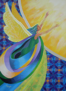 Dome Paintings - New Beginnings by Tonya Henderson Rollyson