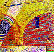 New Bern Mural Print by Randall Weidner