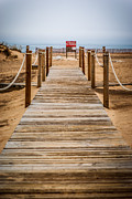 Paul Velgos - New Buffalo Boardwalk Beach Entrance