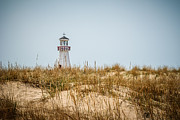 Michigan Prints - New Buffalo Lighthouse in New Buffalo Michigan Print by Paul Velgos