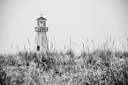 Light House Framed Prints - New Buffalo Lighthouse in Southwestern Michigan Framed Print by Paul Velgos