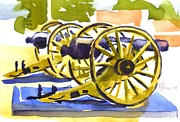 Knob Painting Prints - New Cannon Print by Kip DeVore