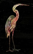 Carol Kinkead - New coat for the Heron