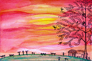 Freedom Mixed Media - New Day by Anjali Vaidya