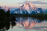 Moran Originals - New Day of Peace in Teton National Park by Dan Hartford