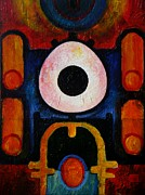 Harold Bascom Fine Art Paintings - New earth Incubation Six by Harold Bascom