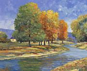 New England Autumn Print by John Zaccheo