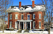 Linda Edgecomb - New England Brick Mansion
