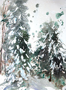 Millbury Massachusetts Prints - New England Landscape No.223 Print by Sumiyo Toribe