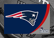 Ball Photos - New England Patriots by Joe Hamilton