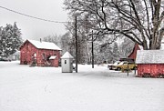 East Hartford Prints - New England Winter Print by Andrea Galiffi