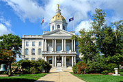 New Hampshire State Capitol Print by Olivier Le Queinec