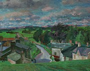 Green Field Paintings - New Hutton Westmorland by Stephen Harris