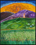 Prophetic Art Painting Originals - New Jerusalem by Cassie Sears